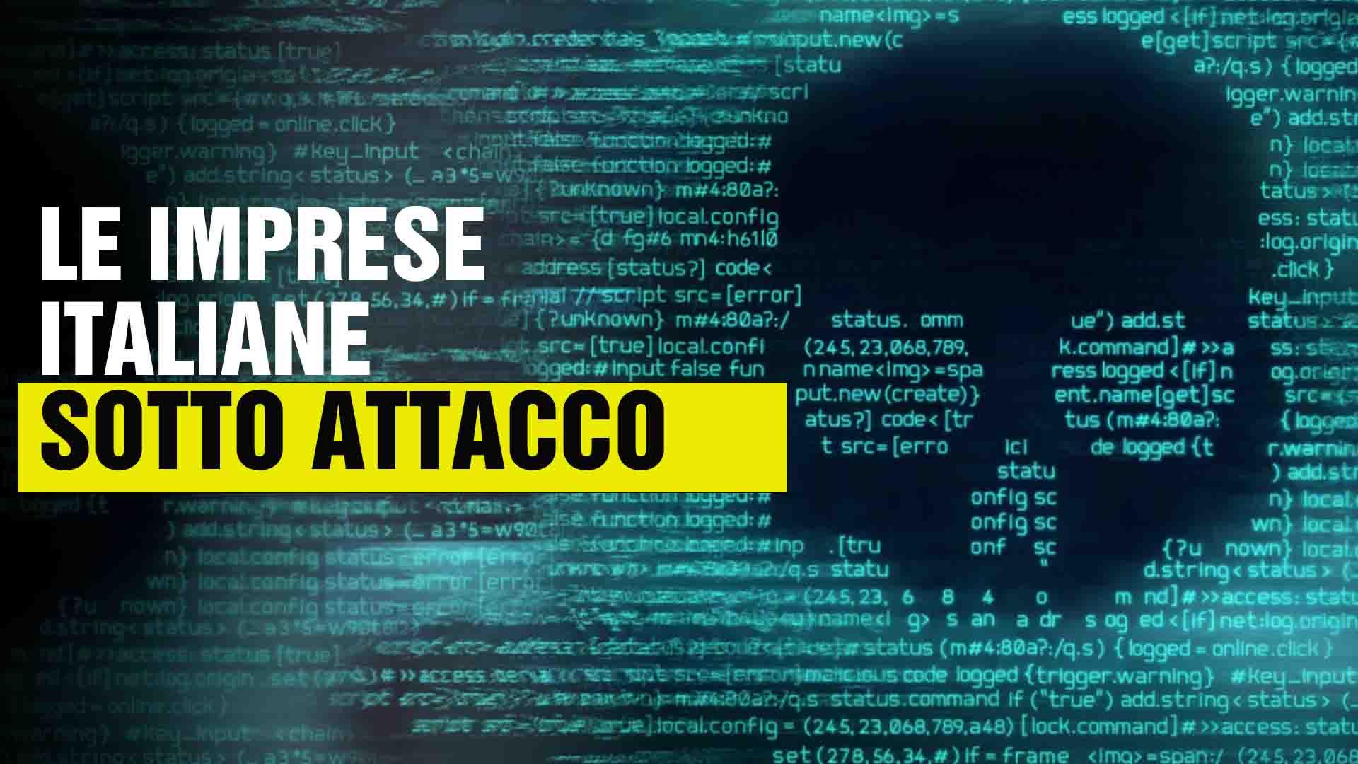 imprese italiane sotto attacco